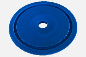 "Debone diaphragm suitable for ""Linco"" or ""Steen"" deboner ""chicken"" (PU 65 blue; hole Ø 10 – Ø 13; as per requirement)"