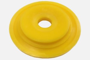 "Debone disc suitable for ""Linco"" or ""Steen"" systems ""Turkey"" (PU 65 yellow; hole Ø 22.0 – Ø 40.0; as per requirement)"