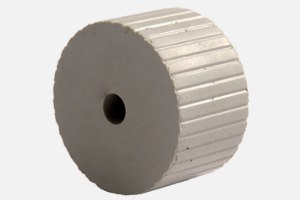 Paper feed roller gray; D34 x d6 x 20 mm