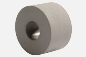Paper feed roller gray; D34 x d13 x 20 mm
