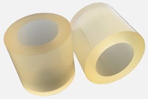 "Replacement rubber for peeling barrel ""2806"" (2 pieces, different sizes)"