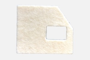 Ink-mat suitable for Neopost franking machines IS 240 - 280; 49 x 42 x 6 mm